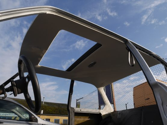 Ny pvc himmel monteret BMW 2002 Turbo